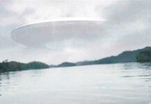 天空出現UFO