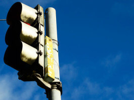 紅綠燈路口壓線開單罰3000