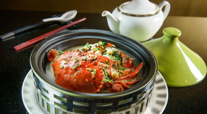 螃蟹和柿子一起吃會中毒
