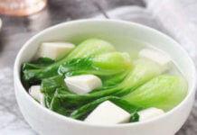 喝青菜豆腐湯會腎結石