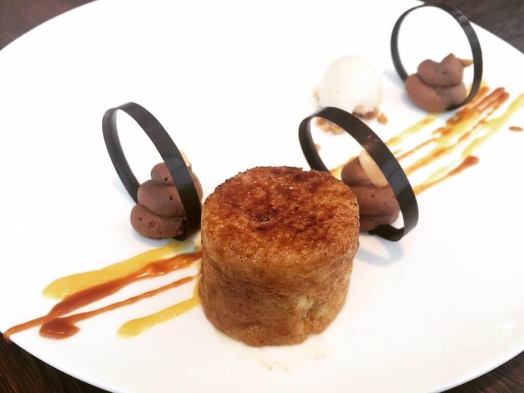 IL MERCATO炙燒焦糖蛋糕。(圖/吐司客拍攝)