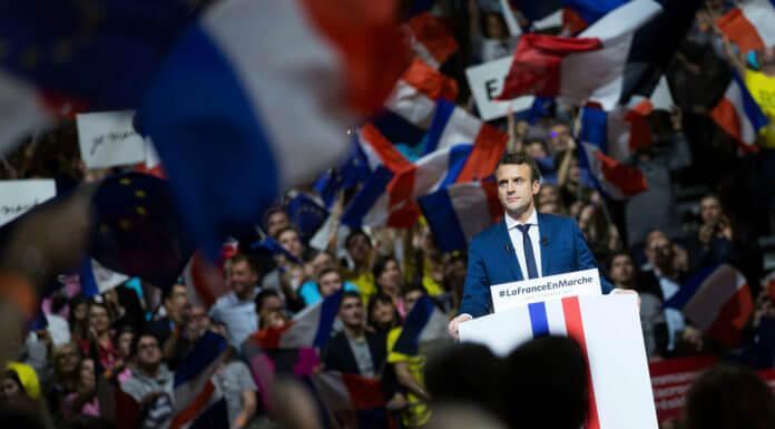 法國總統馬克宏(圖片來源:Emmanuel Macron臉書)