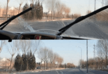 開車遇雞蛋攻擊擋風玻璃別開雨刷
