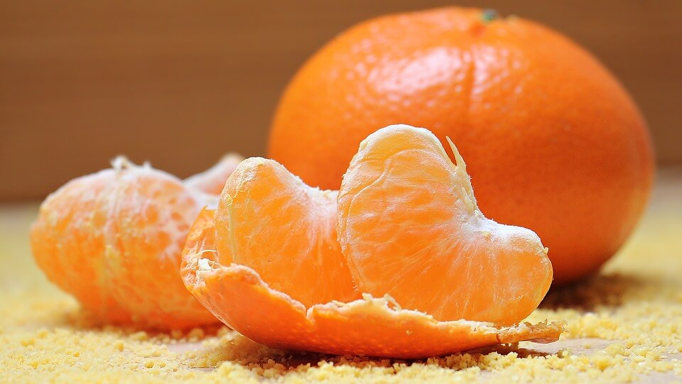 橘子泡藥水