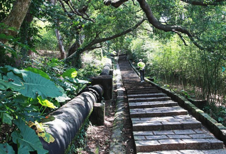 台北天母水管路古道。(source by travel.taipei)