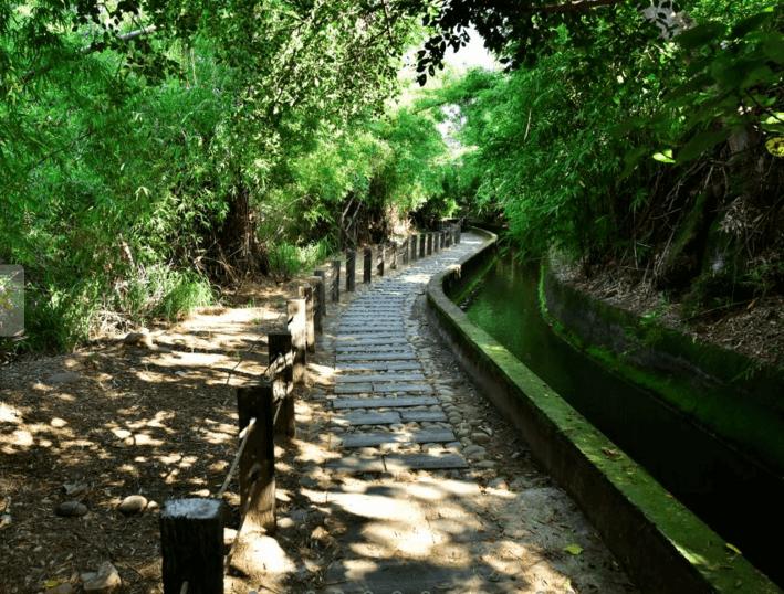 台中知高圳步道。(source by travel.taichung.gov.tw)