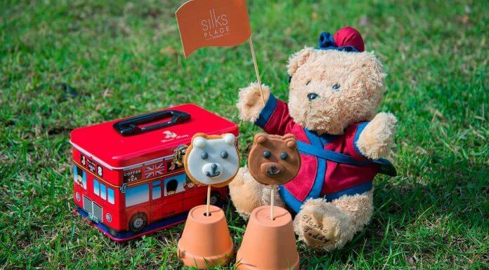 【#跟著小熊準沒錯】包含半日車票、巴士主題餅乾鐵盒以及9吋泰迪熊絨毛玩偶等好禮通通送給您! (圖片/台南晶英酒店提供)