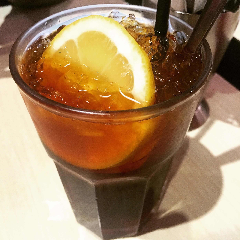 茗香園冰室凍檸茶。(圖/吐司客拍攝)