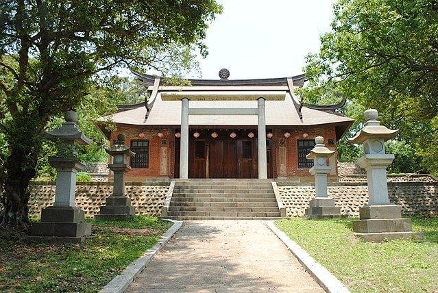 通霄神社。(source by 維基百科)