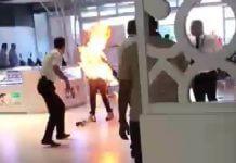 男子全身著火,是 手機用行動電源 ,邊充電邊玩手機的結果?請勿看影片亂編謠言!