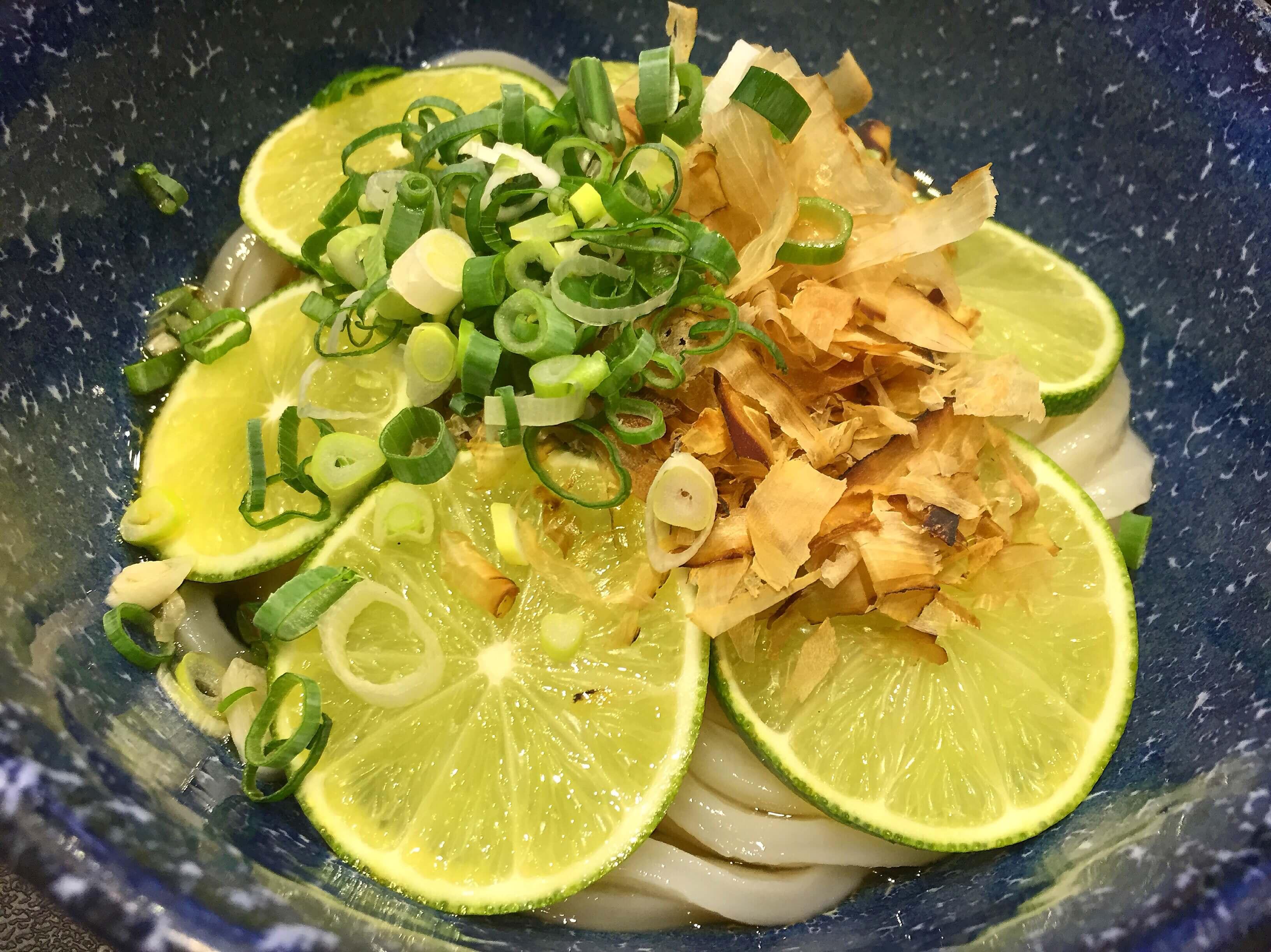 米澤製麵古亭店的檸檬翡翠冷麵。(圖/吐司客拍攝)