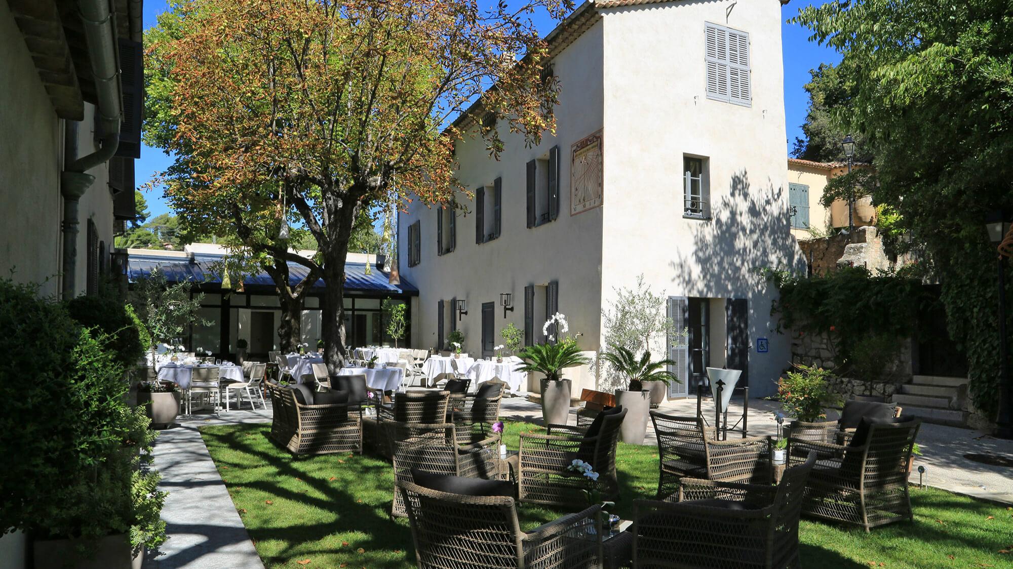 南法米其林二星餐廳Villa Archange。(圖/台北萬豪酒店提供)