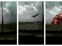 衣索比亞航空公司波音737班機墜毀前 驚恐的前一分鐘影片是真的嗎?假的!