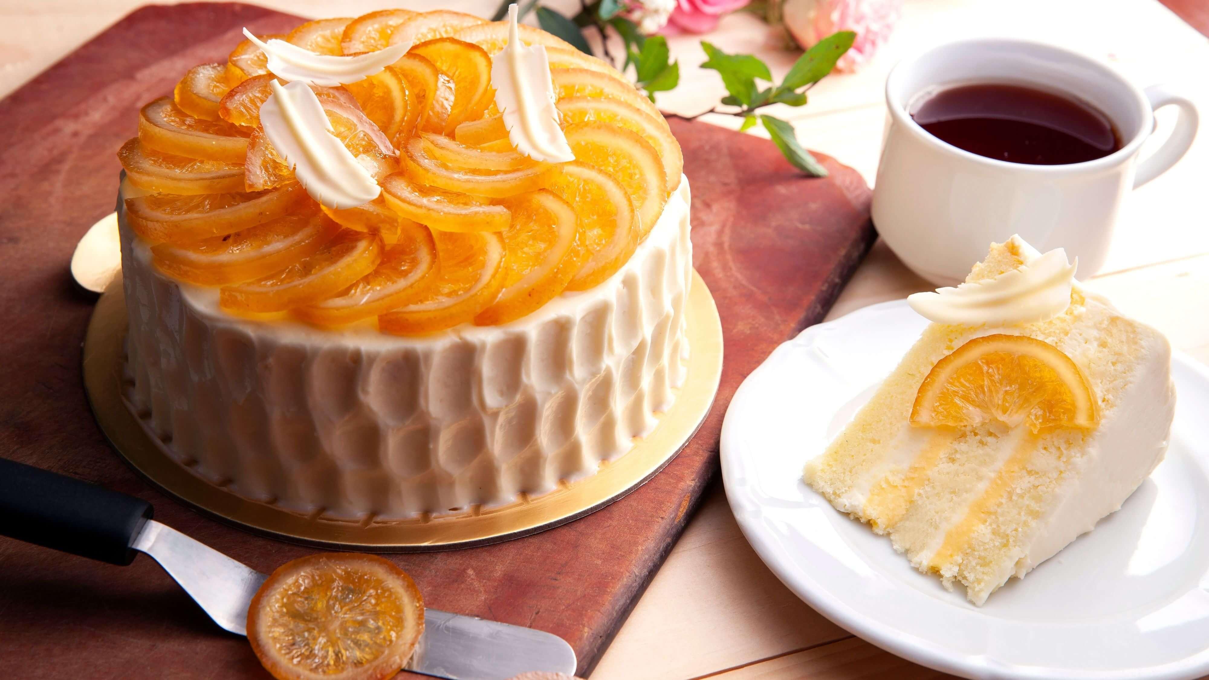 台北西華飯店母親節蛋糕酪檸雪吻。(圖片/台北西華飯店提供)