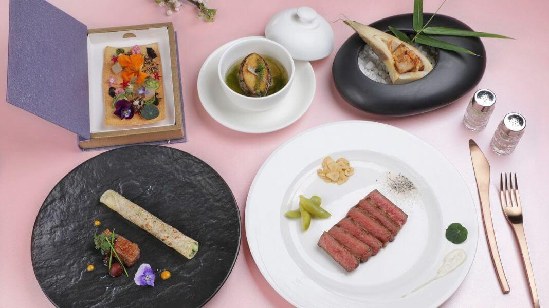 來點Sense/ 台南晶英酒店 ROBIN'S鐵板燒,季節海味搭配和牛雙響宴!