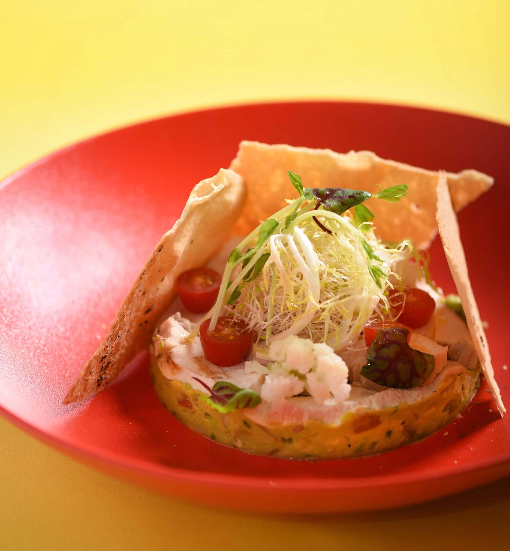 舒肥雞胸肉沙拉。(圖片/台北W飯店提供)