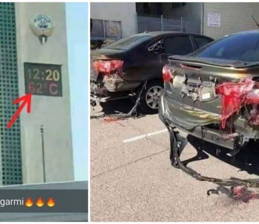 科威特6月15日測得攝氏62度高溫 ?數字會說話,還會打臉謠言呢!