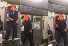 很多外國人想害台灣人也淪陷疫情, 故意把口水吐在捷運手把上 ?錯!此事發生在香港!