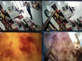 網傳「 講手機靠近瓦斯桶 ,小瓦斯桶沒關瓦斯造成氣爆」是錯的!事件真相並非如此!